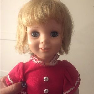 Other - 1960s Tandy Talks Egee doll